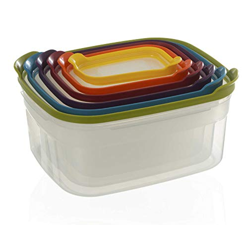 JOSEPH JOSEPH CONTAINER NEST STORAGE SET 6, 1 EA