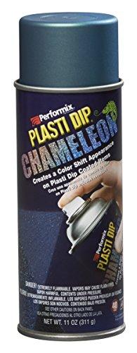 (Plasti Dip 11255 11255-6 Green/Blue Chameleon Metalizer, 11 oz,)