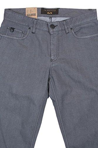 ALBERTO Jeans 30/34 Grau Pipe-Slim Fit