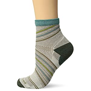 Sockwell Women's Summit Quarter Compression Socks Natural, Medium/Large