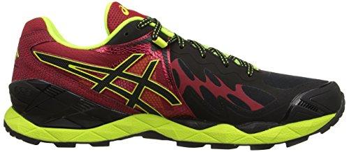 ASICS-Mens-GEL-Fuji-Endurance-Running-Shoe-BlackOnyxRacing-Red-10-M-US