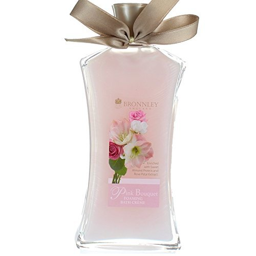 Bronnley Pink Bouquet Foaming Bath Cream 250ml by Bronnley