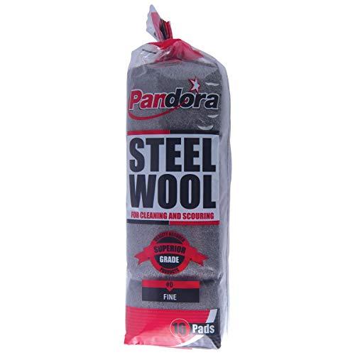 Pandora Steel Wool #0 (Fine) - 16 Pack