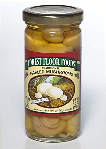 (Forest Floor Foods Traditional Pickled Mushrooms, 16 Ounce)