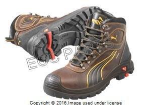 50228b5821de PUMA Safety Men s Sierra Nevada Mid WP EH Brown Sneaker ...