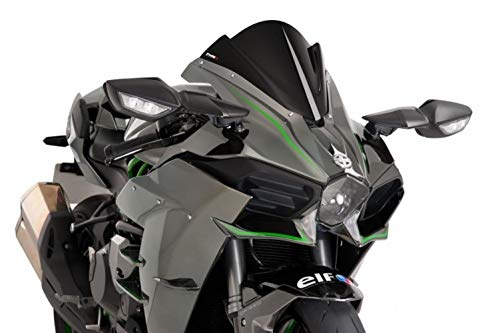 15-19 KAWASAKI NINJA-H2: Puig Z Racing Windscreen (DARK SMOKE)