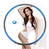 Whale Point Hula Hoop for Adults,Weighted Hula Hoop for Exercise-2lb,8 Section Detachable Design-2018