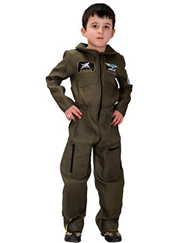 Kalanman Kids Boys Deluxe Assorted Halloween Costume Classic Theme Party Dresses (XL(Fit for 10-12 Age), Special Forces (Special Forces Officer Halloween Costume)