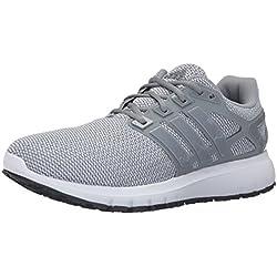 adidas Men's Energy Cloud Wtc m Running Shoe, Grey/Tech Grey/Clear/Grey, 9.5 M US