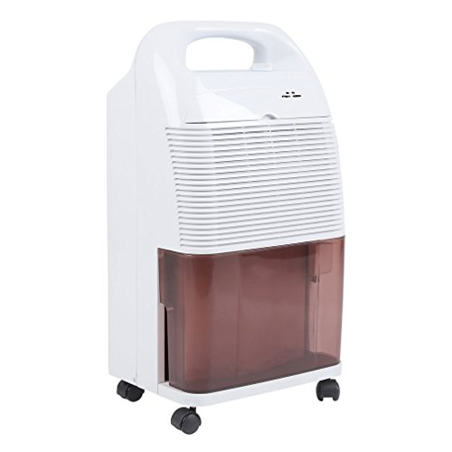 Homgrace Compressor Dehumidifier 16L/day Air Dehumidifier Moisture Absorber Air Dryer Electric Dehumidifiers for Room Damp Kitchen, Bedroom, Bathroom, Office (SL-160D) by Homgrace
