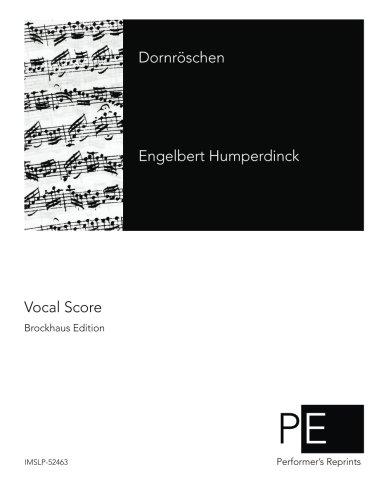Dornröschen  [Humperdinck, Engelbert] (Tapa Blanda)