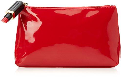 Lulu Guinness T-seam - Portamonete Donna, Red, 5x13x22 cm (W x H L)