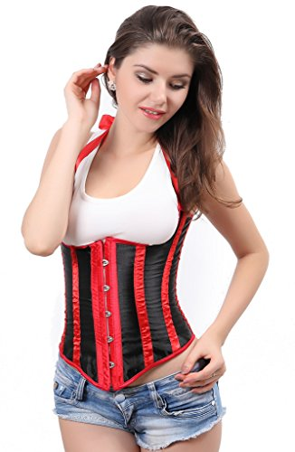 Underbust Halter Multi Colors Corset S 6XL