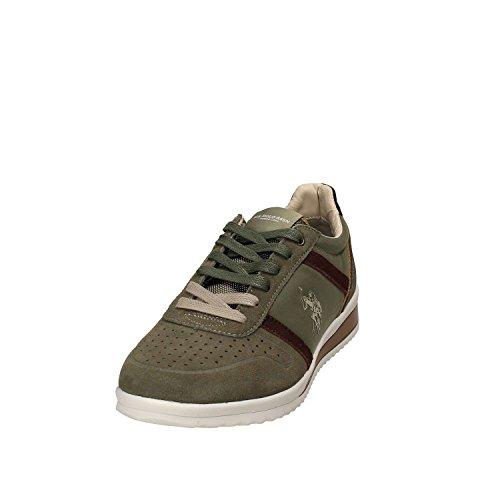 U.S.POLO ASSN. Scarpe Uomo US Polo Sneaker Running Tommy Pelle Scamosciata/Tessuto Grey US18UP03