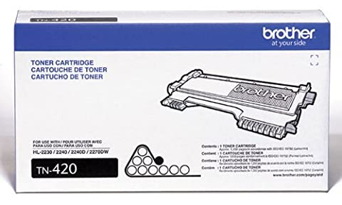 Brother TN420 OEM Toner - HL 2230 2240D 2270DW 2280 MFC 7240 7360 7460 7860 DCP 7060 7065 IntelliFax 2840 2940 Toner (1200 (Drum Printer Brother Mfc 7360)