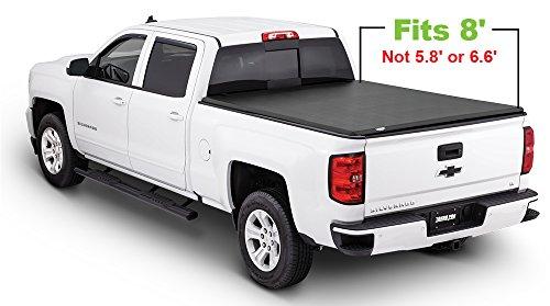 Tonno Pro Tonno Fold 42-113 TRI-FOLD Truck Bed Tonneau Cover 2014-2018 Chevrolet Silverado/GMC Sierra 1500, 2015-2018 Silverado 2500, 3500/GMC Sierra 2500 HD, 3500 | Fits 8' (3500 Tonno Pro Tri Fold)