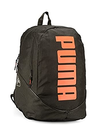 41dfdfb280 Puma Hiking Backpack (Black Orange)  Amazon.in  Bags