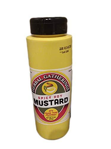 HERBAL GATHERINGS Spicy Mustard, 9 OZ