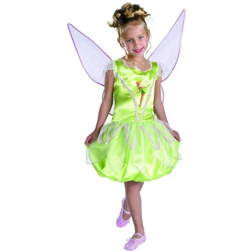 Disney's Fairies Tinkerbell Deluxe - Size: Child L(10 - 12)