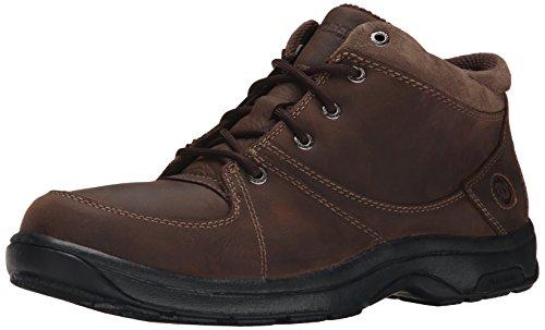 Dunham Men's Addison Mid Cut Waterproof Boot,Dark Brown,13 D
