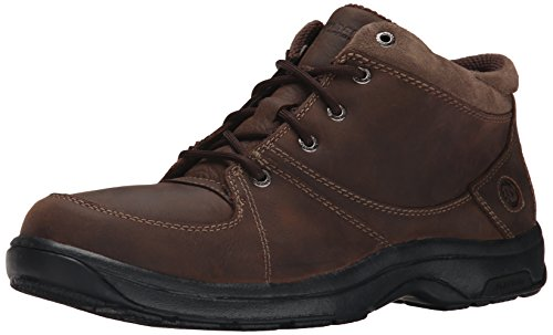 Dunham Men's Addison Mid Cut Waterproof Boot,Dark Brown,11 4E US ()