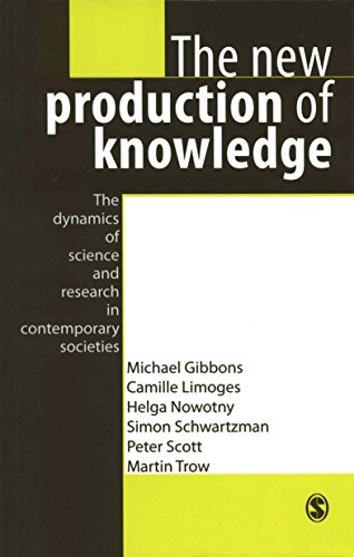 Download The New Production of Knowledge: The Dynamics of Science and Research in Contemporary Societies Pdf