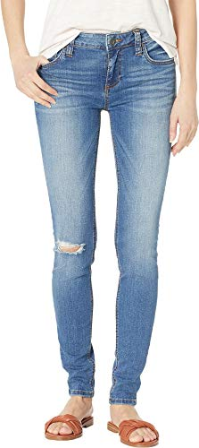 KUT from the Kloth Women's Mia Toothpick Skinny Jeans in Lighten w/Medium Base Wash Lighten W/Medium Base Wash 10 31