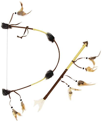 [Smiffy's Native American Indian Bow and Arrow Set, Brown, One Size, 31943] (Costumes Bow And Arrow)