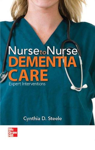 Nurse to Nurse Dementia Care: Dementia Care Pdf