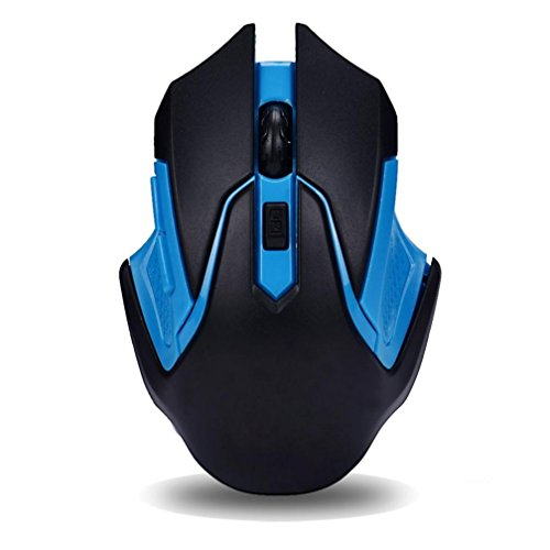 Beautyvan 2.4GHz Wireless Gaming Mouse USB Receiver Pro Gamer for PC Laptop Desktop (C)