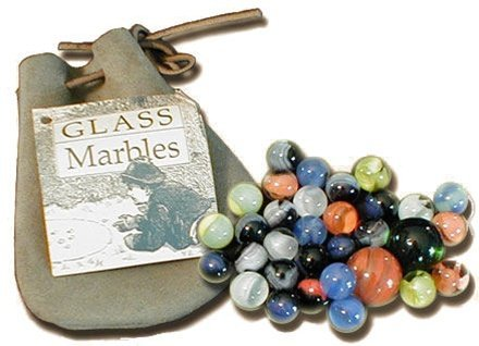 Amazon.com: Glass Marbles - Old Fashioned Toy Marbles, Game of ...