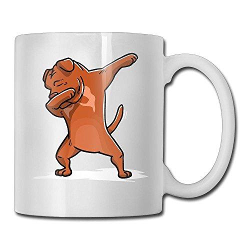 Dogue De Bordeaux Dog Fashion Coffee Cup Porcelain ()