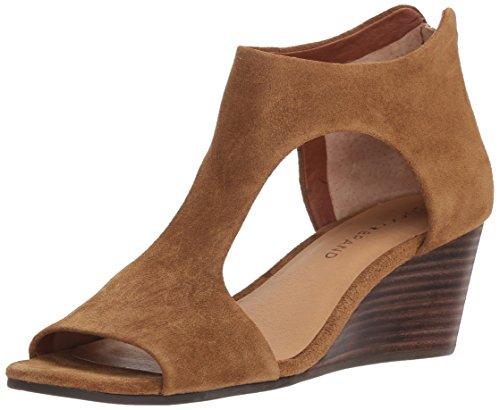 Lucky Women's LK-Tehirr Heeled Sandal, Tapenade, 7.5 Medium US by Lucky Brand