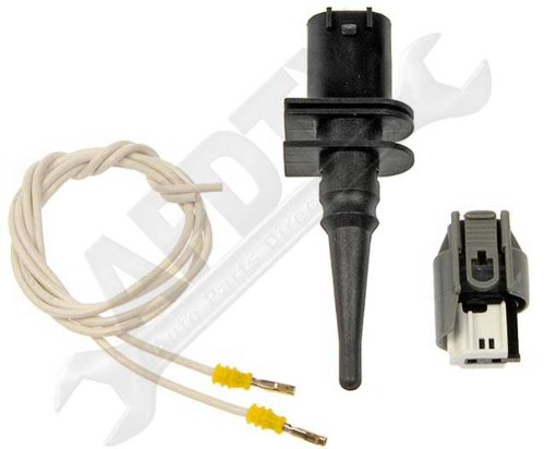 APDTY 013131 Ambient Air Temp AAT Temperature Sensor With Wiring Harness /& Connector Fits Select 1995-2011 BMW View Vehicle List /& Description; Replaces BMW 65-81-6-905-133, 65816905133