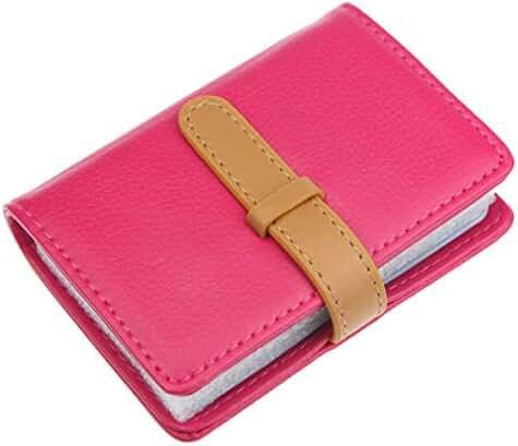 PU Leather Credit Card Holder,HNHC 26 Slots-Book Style