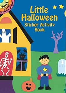 Little Halloween Sticker Activity Book Dover Little Activity Books Stickers