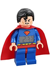 LEGO Kids' 9005701 Super Heroes Superman Alarm Clock