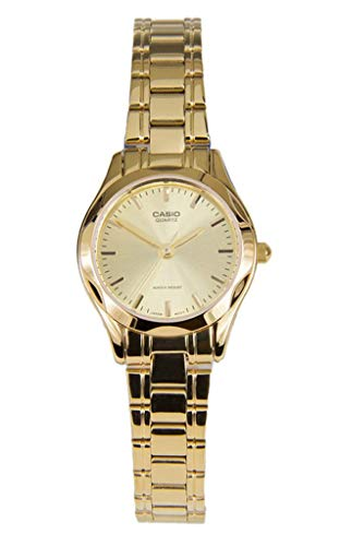 Casio Gold Dial - Casio Women's LTP1275G-9A Gold Stainless-Steel Quartz Watch with Gold Dial