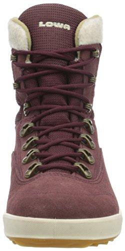Lowa Kazan Gtx Mid, Zapatos de High Rise Senderismo para Mujer Marrón (bordeaux)