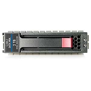 """HP 2TB 3G SATA 7.2K rpm LFF (3.5-inch) Midline 1yr Warranty Hard Drive - Disco duro (SATA, 2000 GB, 8,89 cm (3.5""""), 11,07 cm, 2,64 cm, 18,42 cm)"""