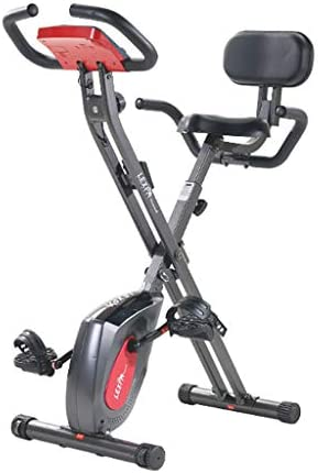 Bicicleta Vertical magnética Plegable para ejercitar el hogar ...