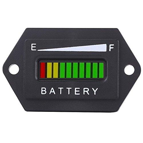 Indicador universal del metro del indicador de la batería de Digitaces Lcd, indicador de la batería de 12V / 24V / 36V /...