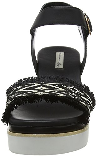 Tosca Blu Sandals nero Black Platform Women's C99 Rock'n'roll aadqwr4