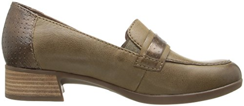 Dansko Loafer Slip Burnished Women's Lila On Nappa Taupe rf6wrq