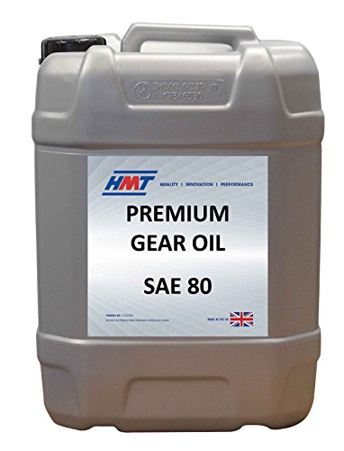Oil SAE 80 - 20 Litre Plastic (Premium Gear Oil)