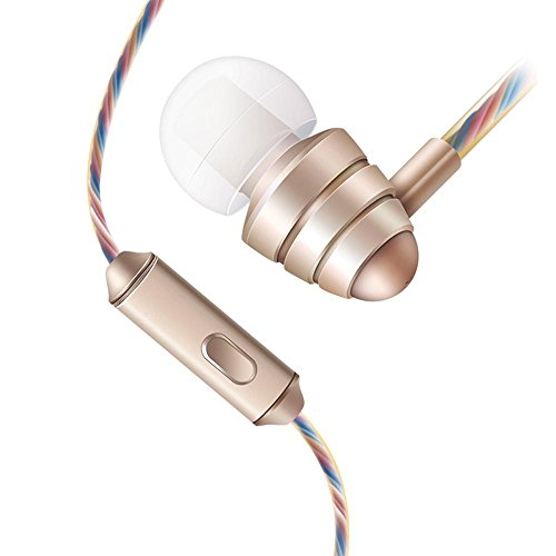 GBSELL In-Ear 3.5mm Super Bass Earphone Earbuds Headset HeadPhone For Cellphone Mp3 (Gold)