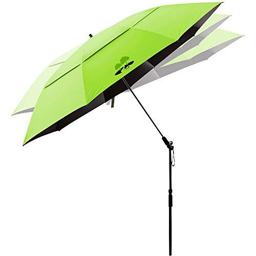 Beach Umbrella Portable Outdoor Sun Beachs Umbrellas 100 Antiultraviolet 100 Waterproof 360