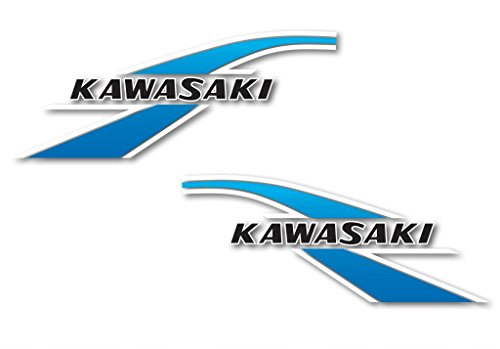 (Reproduction Decals KV75-78-001 KV75 Cerulean Blue Gas Tank Decals)