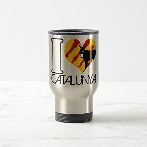 - Feddiy Tumbler-Stainless Steel Travel Mug,14 oz Funny Coffee Mug-I COILS CATALUNYA Stainless Steel 14 oz