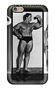 High Impact Dirt/shock Proof Case Cover For Iphone 6 (arnold Schwarzenegger Young)